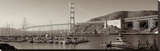 Golden Gate Bridge 34 Stretched Canvas Print by Alan Blaustein