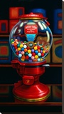 Gumball Machine IV Stretched Canvas Print by TR Colletta