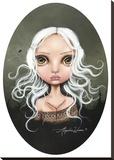Jane Doe Stretched Canvas Print by Angelina Wrona