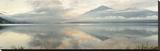 Gravedonna Lake Vista Stretched Canvas Print by Alan Blaustein