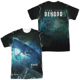 Star Trek Beyond- Interstellar Flight (Front/Back) T-Shirt