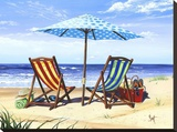 Made in the Shade Stretched Canvas Print by Scott Westmoreland