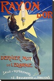 Rayon d'Or Stretched Canvas Print by Jean de Paleologu (PAL)