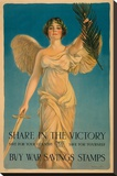 Share in the Victory Stretched Canvas Print by Haskell Coffin