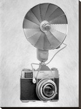 Retro Point & Shoot 17 Stretched Canvas Print by Alan Blaustein