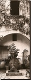 Portico, Ravello Stretched Canvas Print by Alan Blaustein