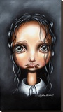 Poor Little Abigail Stretched Canvas Print by Angelina Wrona