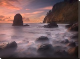 Timeless Shore Stretched Canvas Print by Marc Adamus