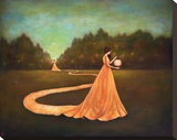 Unwinding the Path to Self-Discovery Stretched Canvas Print by Duy Huynh