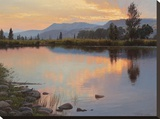 Tranquil Evening Stretched Canvas Print by Jay Moore