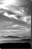Black & White Sky Stretched Canvas Print by  PhotoINC Studio
