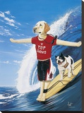 Top Dawg Stretched Canvas Print by Scott Westmoreland