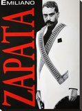 ZAPATA! Stretched Canvas Print by Robert Valadez