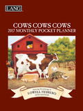 Cows Cows Cows - 2017 Monthly Pocket Planner Calendars