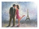 Paris Love Prints by Vickie Wade