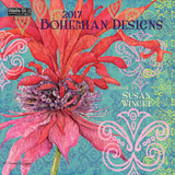 Bohemian Designs - 2017 Calendar Calendars