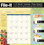 Botanical Gardens - 2017 File Folder Calendar Calendars