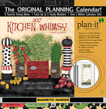 Kitchen Whimsy - 2017 Planning Calendar with Magnetic Hanger Calendars