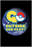 Go Outside And Play Print