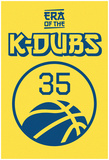 Era Of The K Dubs (Blue On Gold) Posters