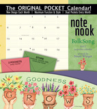 Folk Song - 2017 Calendar with Pocket Calendars