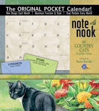 Country Cats - 2017 Calendar with Pocket Calendars
