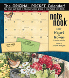 Heart & Home - 2017 Calendar with Pocket Calendars