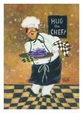 Hug the Chef Print by Vickie Wade