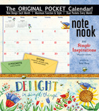 Simple Inspirations - 2017 Calendar with Pocket Calendars
