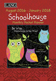 Schoolhouse 17-Month - 2017 Monthly Pocket Planner Calendars