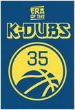 Era Of The K Dubs (Gold On Blue) Affiches