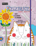 Celebrate Coloring - 2017 Monthly Planner Calendars