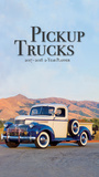 Pickup Trucks - 2017 Two-Year Planner Calendars