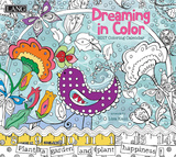 Dreaming In Color Coloring - 2017 Calendar Calendars