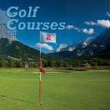 Golf Courses - 2017 Mini Calendar Calendars