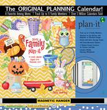 Family - 2017 Planning Calendar with Magnetic Hanger Calendars