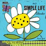 Simple Life - 2017 Mini Calendar Calendars