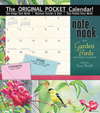 Garden Birds - 2017 Calendar with Pocket Calendars