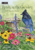 Birds In The Garden - 2017 Monthly Planner Calendars