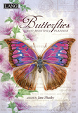Butterflies - 2017 Monthly Planner Calendars