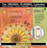 Elegance - 2017 Planning Calendar with Magnetic Hanger Calendars