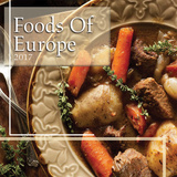 Foods Of Europe - 2017 Calendar Calendarios