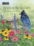 Birds In The Garden - 2017 Monthly Pocket Planner Calendars