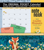 Country Pleasures - 2017 Calendar with Pocket Calendars