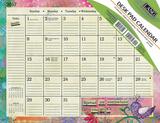 Color My World - 2017 Desk Pad Calendars