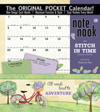 Stitch In Time - 2017 Calendar with Pocket Calendars
