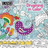 Dreaming In Color Coloring - 2017 Boxed Calendar Calendars