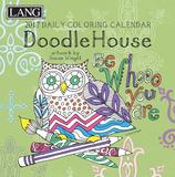 Doodle House Coloring - 2017 Boxed Calendar Calendars