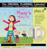 Mom's - 2017 Planning Calendar with Magnetic Hanger Calendars