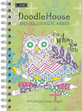 Doodle House - 2017 Coloring Planner Calendars